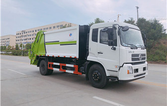 东风天锦10-12方压缩垃圾车