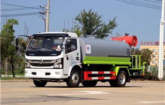 国六东风多利卡9.2吨雾炮洒水车