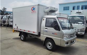 福田驭菱冷藏车厢长2.6米