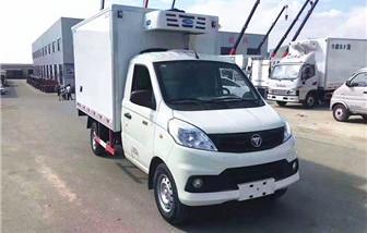 国六福田祥菱冷藏车厢长2.8米