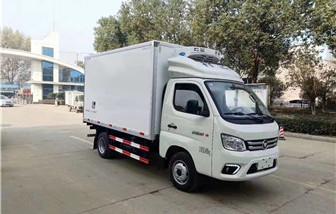 福田祥菱M1后双轮冷藏车厢长3.08米
