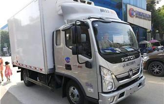 福田奥铃速运排半冷藏车3.7米
