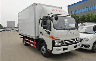 江淮骏铃V6冷藏车厢长4.03米