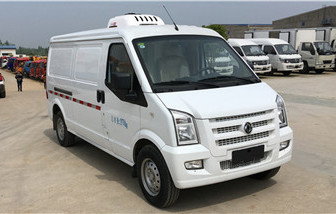 东风小康面包药品运输冷藏车3立方
