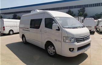 福田G7双排冷藏车3.4立方