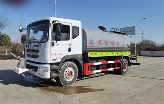 国六东风多利卡12-15吨洒水车