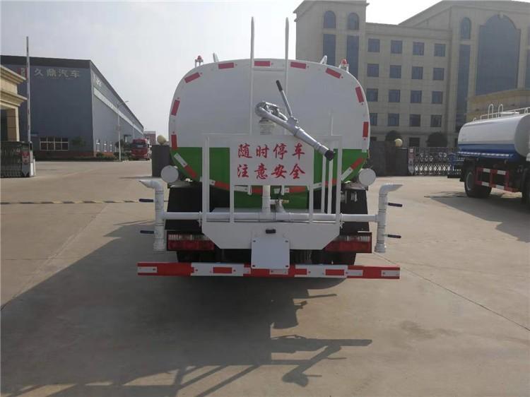陕汽轩德10吨洒水车多方位视角图片