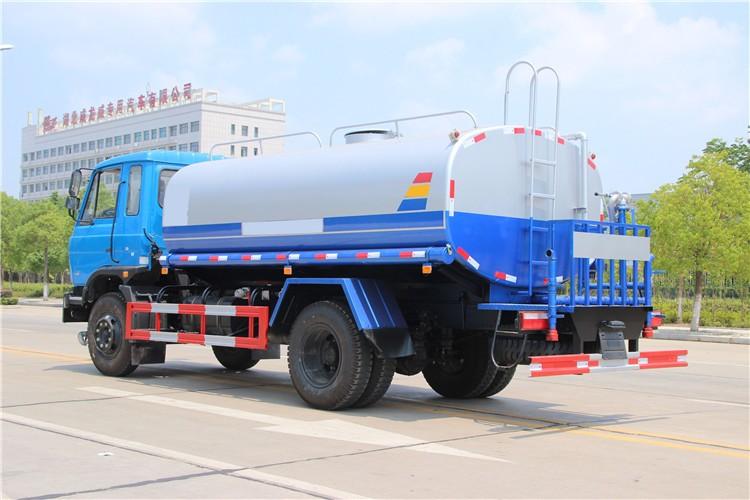 东风145(10-12吨)吨洒水车多方位视角图片