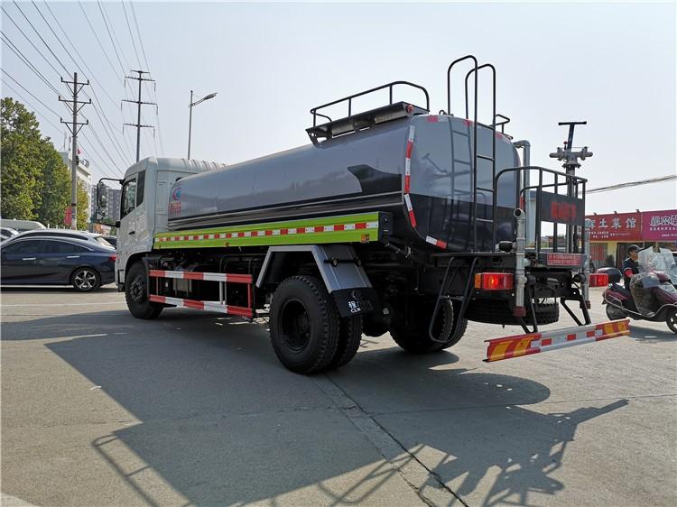 东风天锦15吨洒水车多方位视角图片