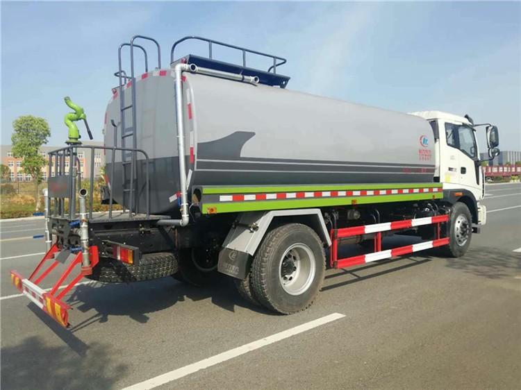福田瑞沃12-15吨洒水车多方位视角图片