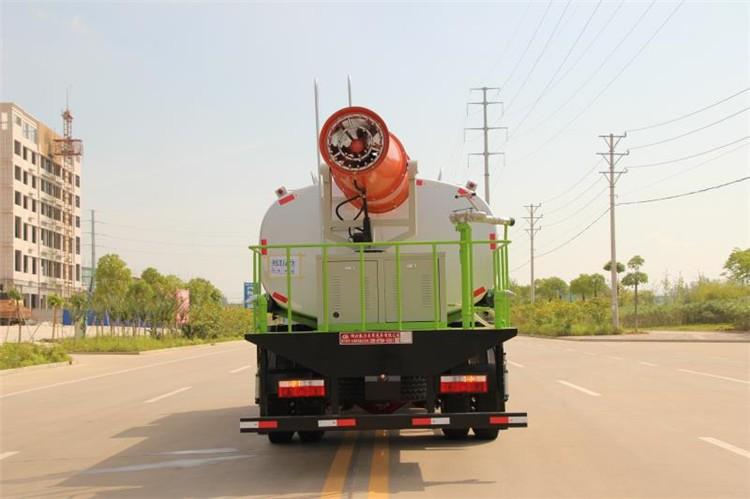 东风D9 (12方)雾炮抑尘车多方位视角图片