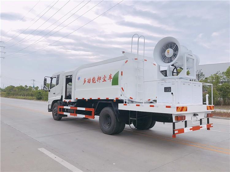 东风天锦10吨雾炮抑尘车多方位视角图片