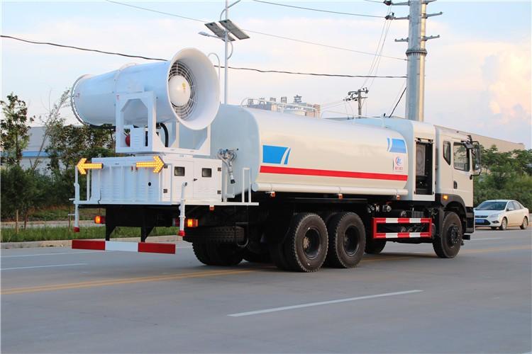 东风T5(16吨)雾炮抑尘车多方位视角图片