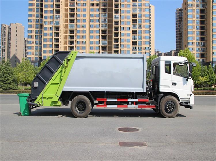 东风专底12方压缩垃圾车多方位视角图片