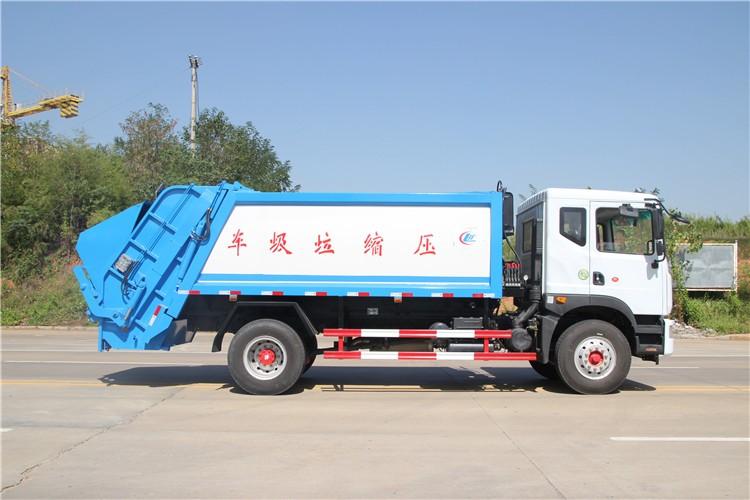东风D9(12方)压缩垃圾车多方位视角图片