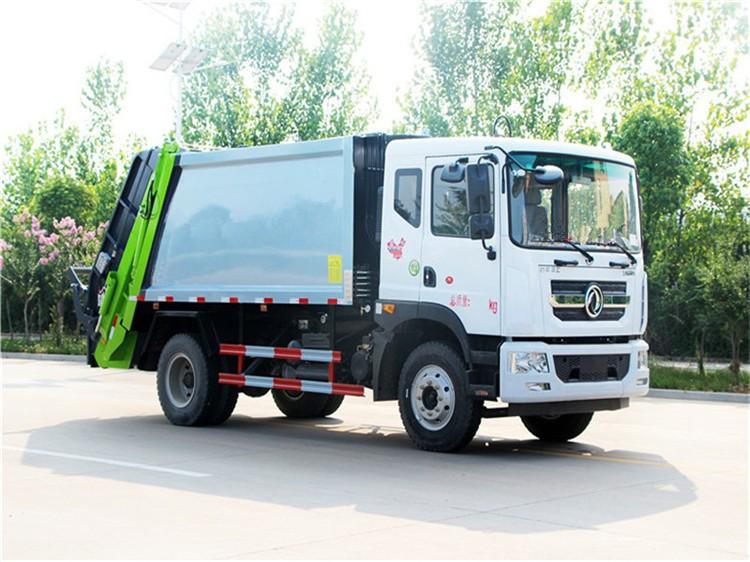 东风D9(10方)压缩垃圾车多方位视角图片