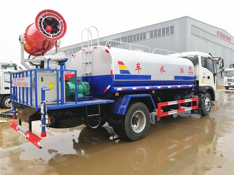 福田瑞沃12-15吨雾炮洒水车多方位视角图片