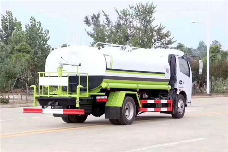 国六东风凯普特9.2吨洒水车多方位视角图片