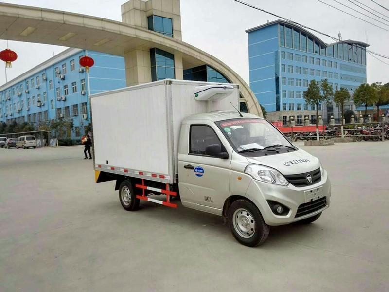 江淮康铃冷藏车厢长3.1米多方位视角图片