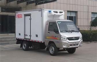 凯马单轮冷藏车厢长3米多方位视角图片