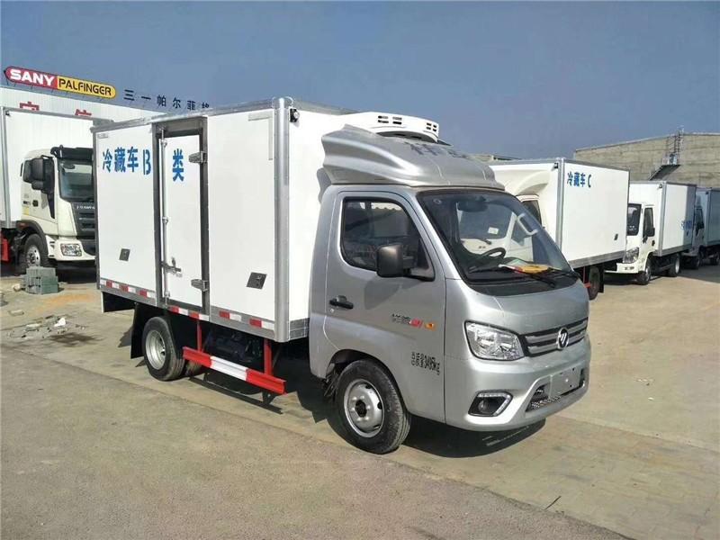 福田祥菱M1后双轮冷藏车厢长3.08米多方位视角图片