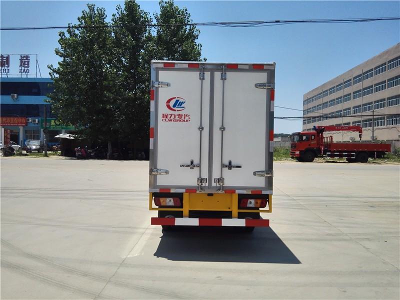 福田康瑞冷藏车厢长3.5米多方位视角图片
