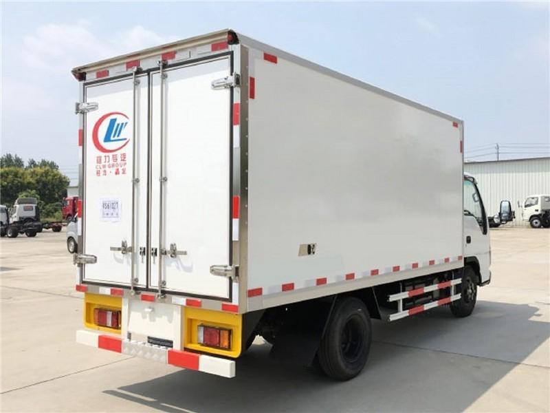 五十铃冷藏车厢长4.1米多方位视角图片