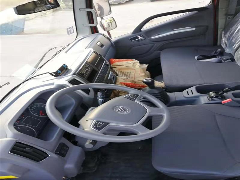 福田奥铃M4宽体冷藏车厢长4.085米多方位视角图片