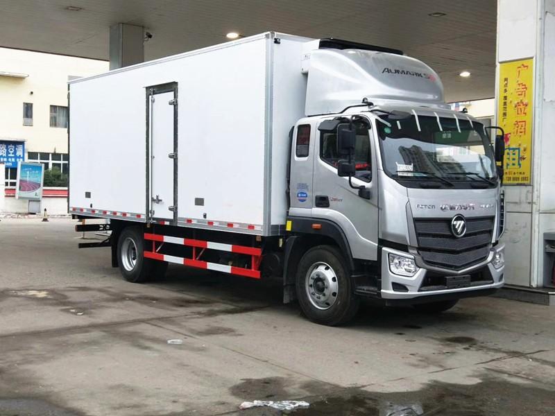 福田欧马可S5冷藏车厢长5.8米-6.6米多方位视角图片