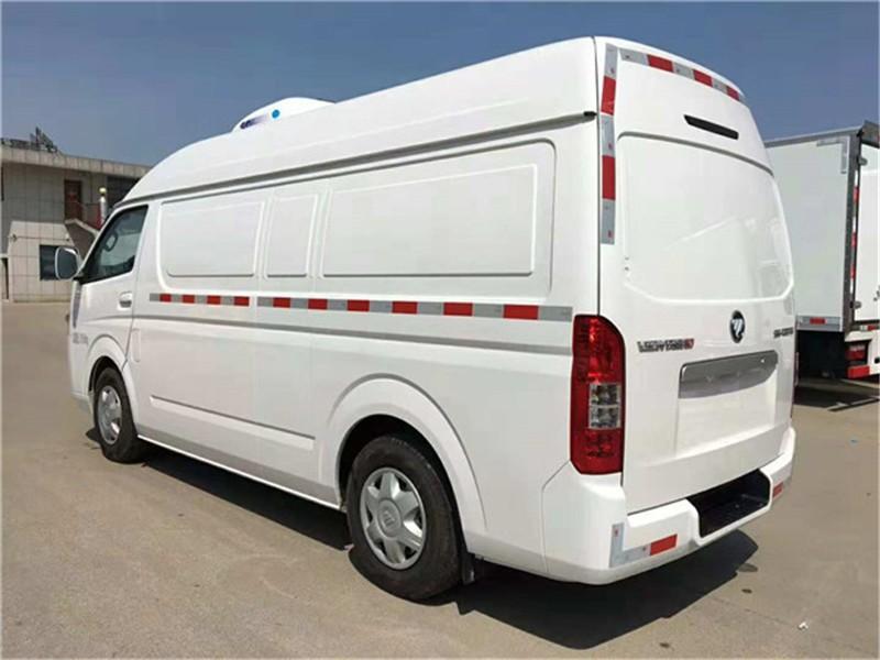 福田G7面包冷藏车5.8立方多方位视角图片