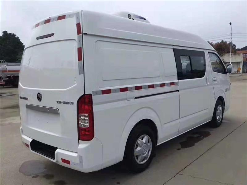 福田G7双排冷藏车3.4立方多方位视角图片