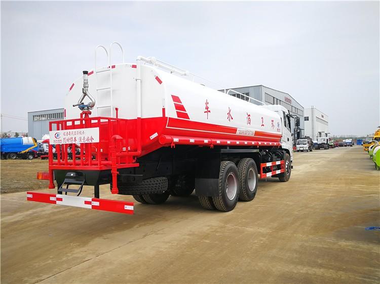 东风商用22吨洒水车多方位视角图片