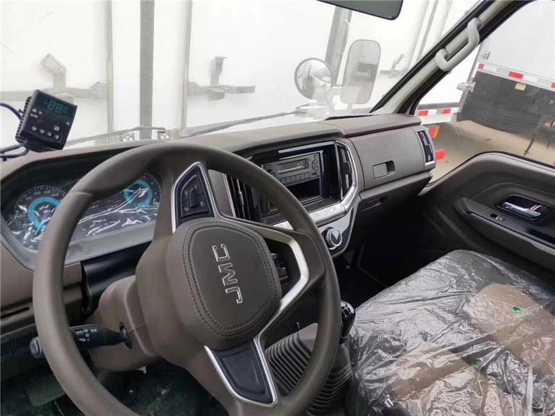 国六江铃顺达冷藏车厢长4.15米多方位视角图片